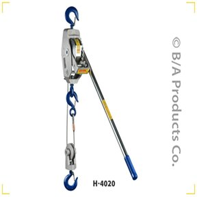 Lug-All Cable Ratchet Winch Hoist, 2 Ton