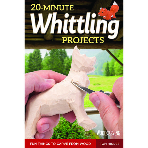 View a Larger Image of 20 - Minute Whittling Projects
