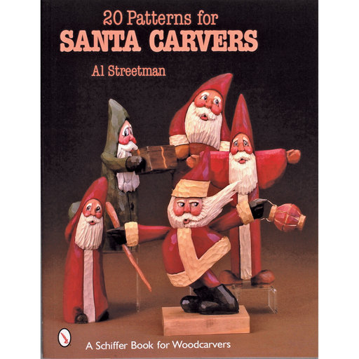 View a Larger Image of 20 Patterns for Santa Carvers