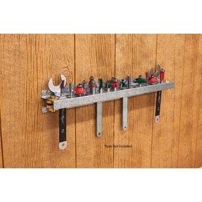 "20"" Router Bit Storage Rack"