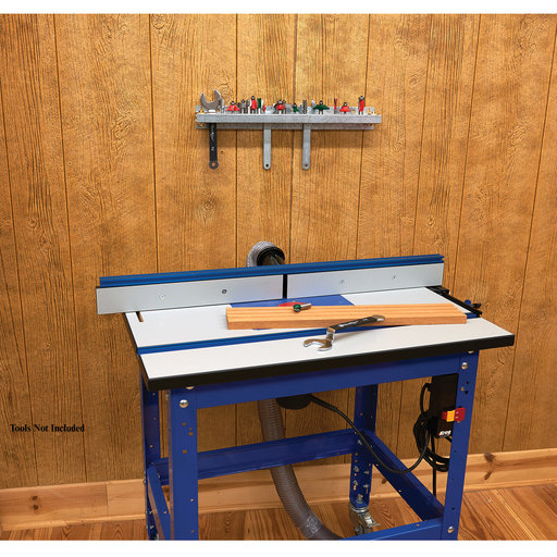 "View a Larger Image of 20"" Router Bit Storage Rack"