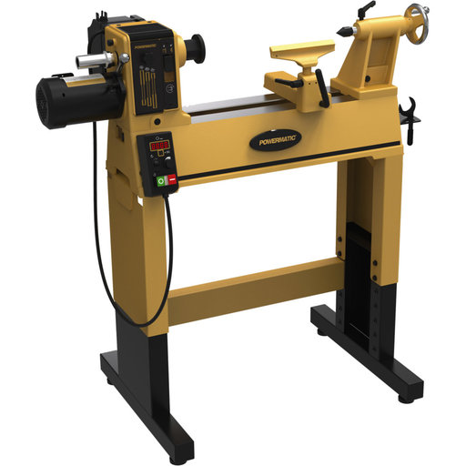 View a Larger Image of PM2014 Lathe with Stand, 1 HP, 115V