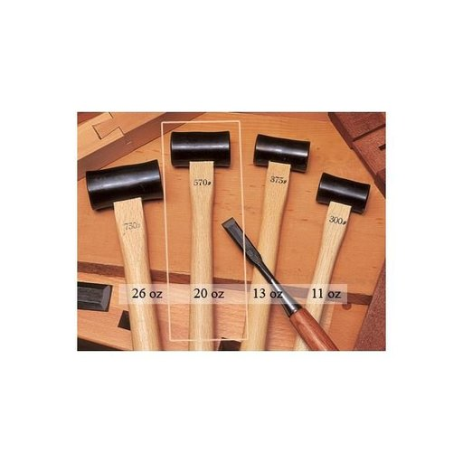 View a Larger Image of 20oz Fat Chisel Hammer (Daruma Gennoh) - Ohosyo