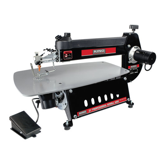 "View a Larger Image of 21"" Professional Scroll Saw"