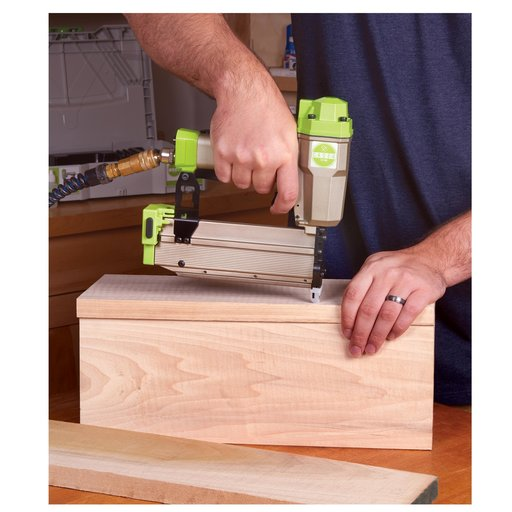 """View a Larger Image of 21ga 2-3/16"""" Pneumatic Nailer in systainer"""