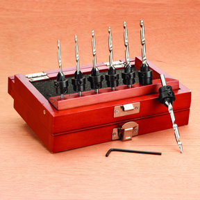 22-Piece Countersinks With Tapered Drill Bits Set