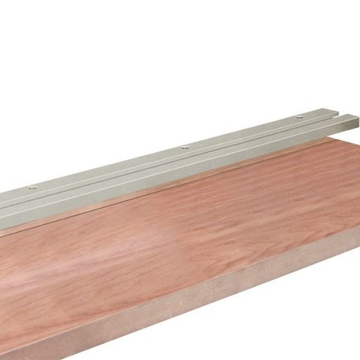 View a Larger Image of 24-Inch Safety Roller Mounting Track