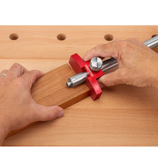 """View a Larger Image of 24"""" Panel Marking Gauge - Stainless Steel bar"""