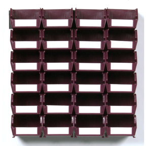 26pc. Wall Storage Unit - Red