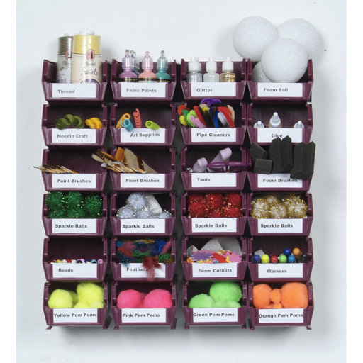 View a Larger Image of 26 Pc Wall Storage Unit