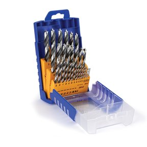 29-Piece Imperial Chrome-Vanadium Steel Brad Point Drill Index