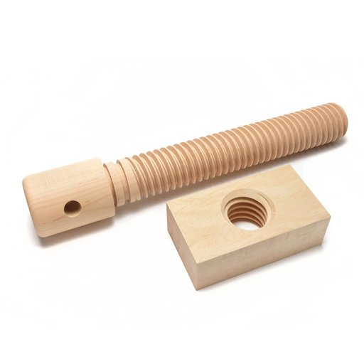 View a Larger Image of 2X Wood Vise Screw - Basic