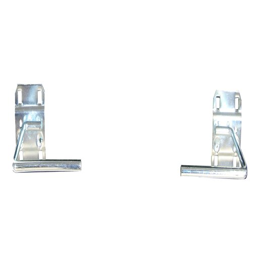 View a Larger Image of 3-1/2 In. D Paper Towel Holder 1/2 In. Dia. Zinc Plated Steel Pegboard Hook for LocBoard, 1 Pack
