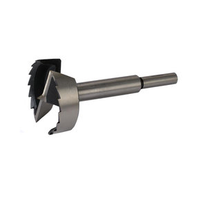 "3-1/8"" High-Carbon Steel Forstner Bit"