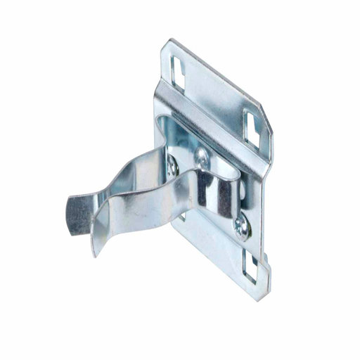 View a Larger Image of 3/4 In. to 1-1/4 In. Hold Range 2 In. Projection, Zinc Plated/Chromate Dipped Steel Extended Spring Clip for LocBoard, 5
