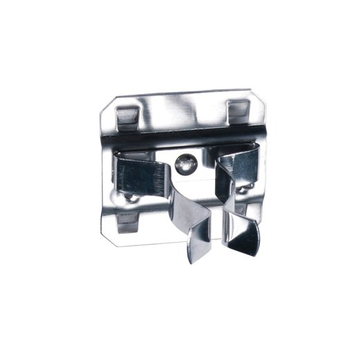 View a Larger Image of 3/4 In. to 1-1/4 In. Hold Range 7/8 In. Projection, Stainless Steel Extended Spring Clip for Stainless Steel LocBoard, 3