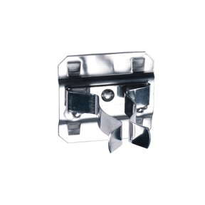 3/4 In. to 1-1/4 In. Hold Range 7/8 In. Projection, Stainless Steel Extended Spring Clip for Stainless Steel LocBoard, 3