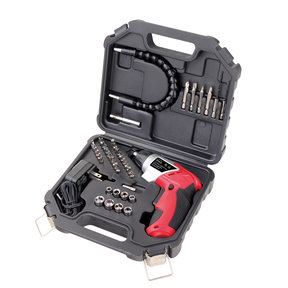 3.6V Lithium-Ion Rechargeable Screwdriver with 45 Piece Acce
