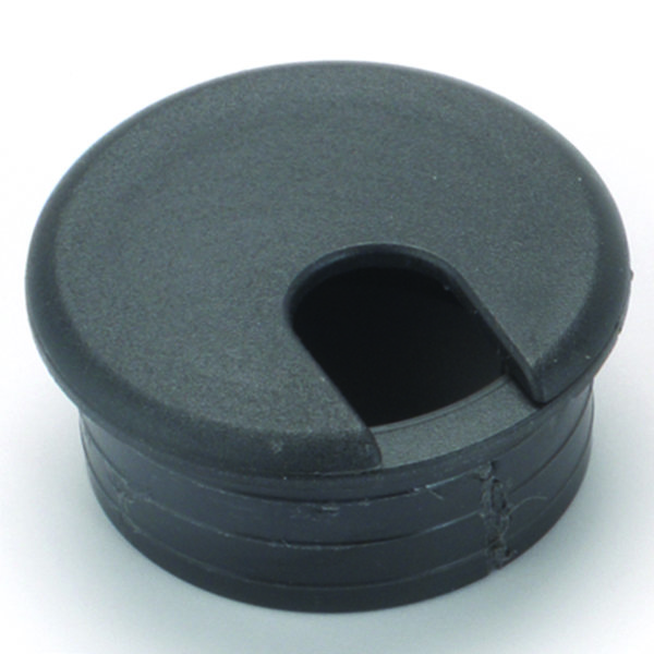 3 cable management plastic grommet black for 3 furniture grommet