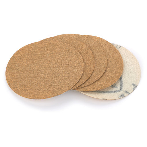"View a Larger Image of 3"" Sanding Discs for Robert Sorby Sandmaster, 5-pack, 120 grit"