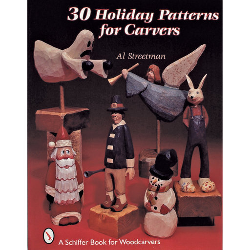 View a Larger Image of 30 Holiday Patterns for Carvers