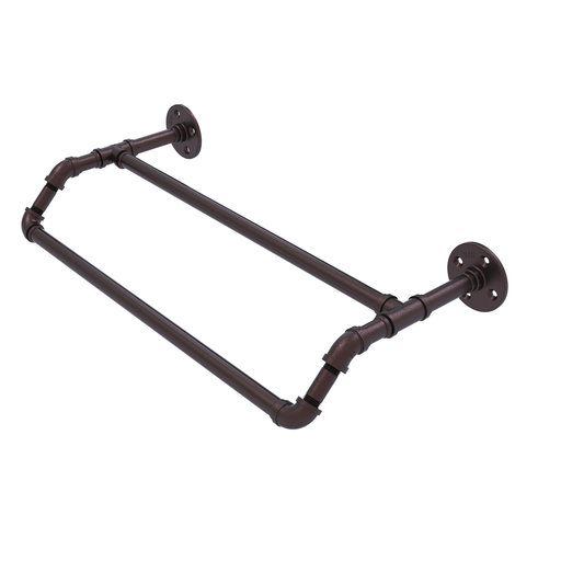 "View a Larger Image of  30"" Double Towel Bar, Antique Bronze Finish"