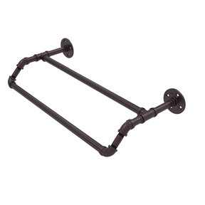 "30"" Double Towel Bar, Antique Bronze Finish"