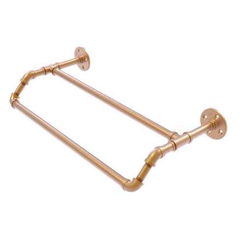"""View a Larger Image of  30"""" Double Towel Bar, Brushed Bronze Finish"""