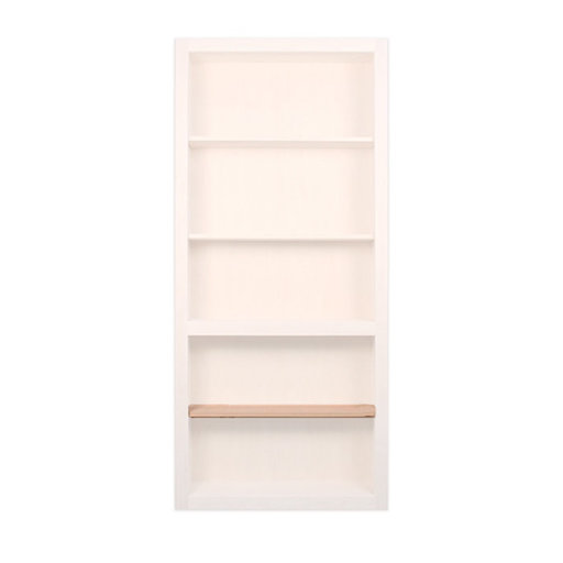 View a Larger Image of 32 in. Red Oak Extra Shelf Accessory for 32 in. InvisiDoor Bookcase Door