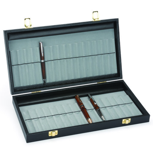 View a Larger Image of 32 Pen Display Case With Lid