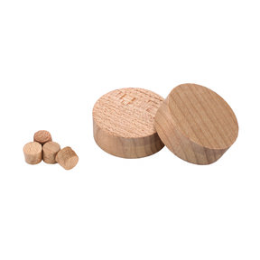 35mm Hinge Hole Repair Kit, Maple