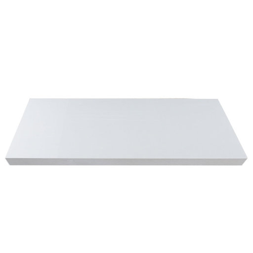 """View a Larger Image of 36"""" W x 13"""" D x 2"""" H Palermo Gloss White Floating Wall Shelf"""