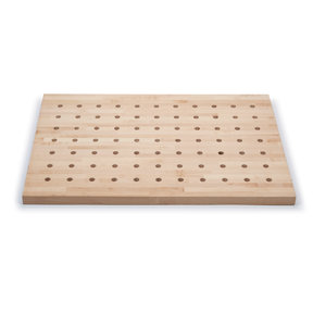 36x25 Premium Hardwood Peg Table Top