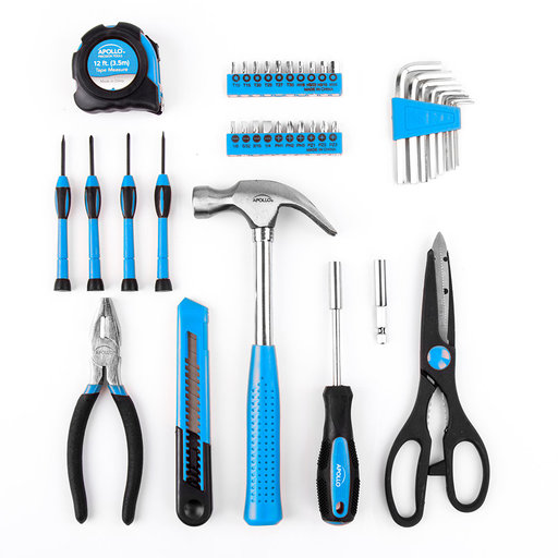 View a Larger Image of 39 Piece General Tool Kit Blue