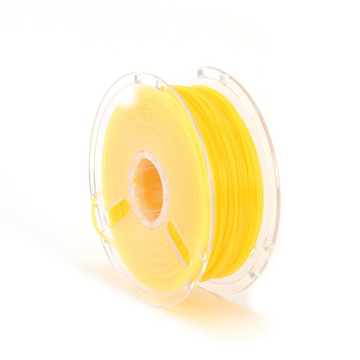 View a Larger Image of 3D Printer Filament Translucent Yellow 2.85mm 1kg Reel