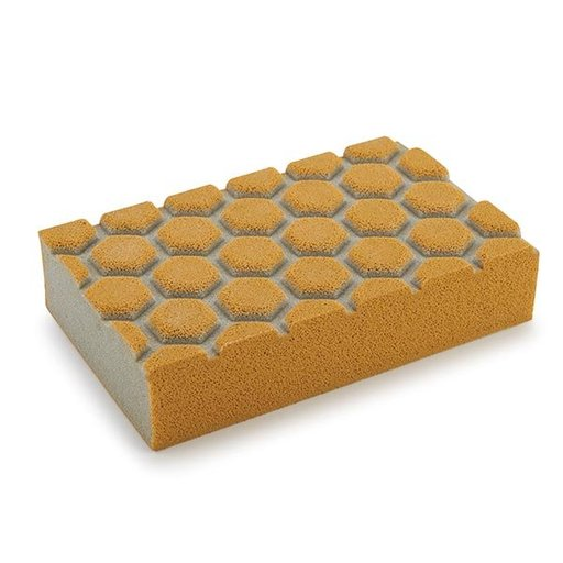 View a Larger Image of Dust Channeling Sanding Sponge, 180 Grit