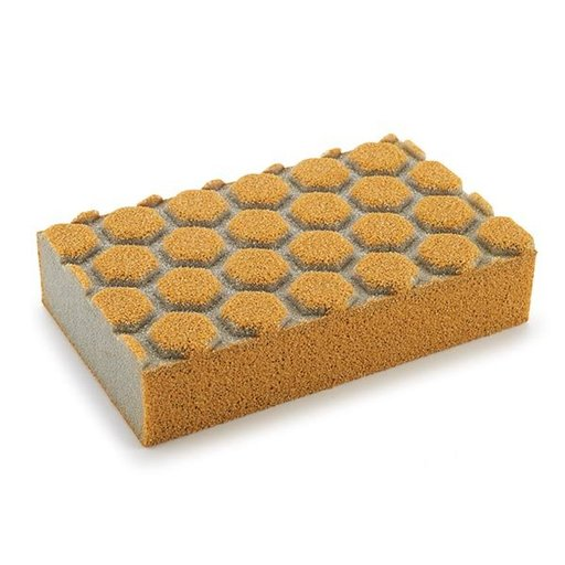 View a Larger Image of Dust Channeling Sanding Sponge, 60 Grit