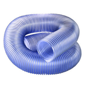 "4"" Diameter Clear Dust Collection Hose"