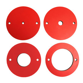 4 pc Phenolic Insert Ring Set