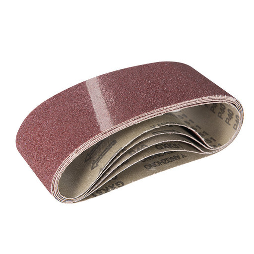 View a Larger Image of 40G AO 3x21 Sanding Belt 5pk