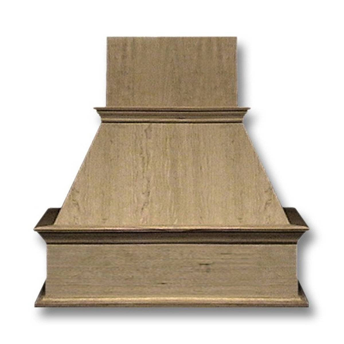 42 In Wide Decorative Hickory Wood Wall Mount Range Hood