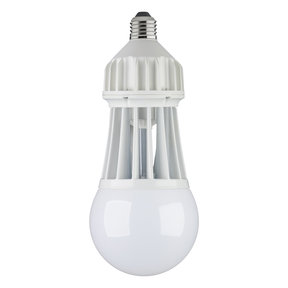 Keystone LED Lighting 2500 Lumen LED Utility Bulb with Hood 30W
