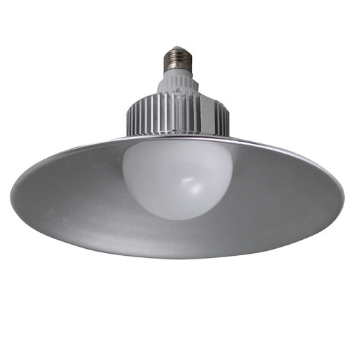 View a Larger Image of 4400 Lumen LED Utility Bulb with Hood, 30W