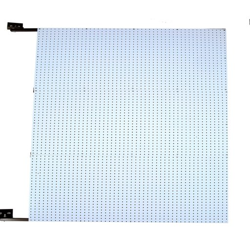 View a Larger Image of 48 In. W x 72 In. H x 1-1/2 In. D Wall Mount Double-Sided Polypropylene Swing Panel Pegboard