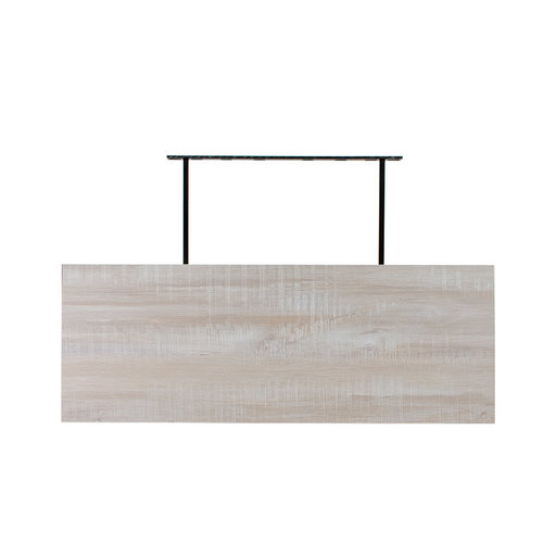 "View a Larger Image of 48"" W x 13"" D x 2"" H Riviera Oyster Shell Floating Wall Shelf"
