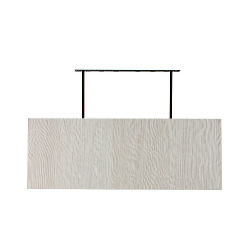 "View a Larger Image of 48"" W x 13"" D x 2"" H Torino White Pine Floating Wall Shelf"