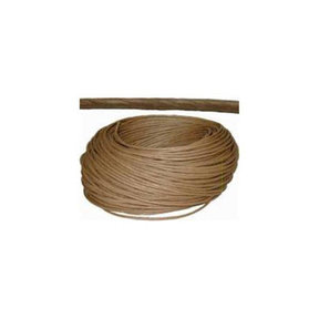 "5/32"" Brown Fiber Rush 325 ft Roll"