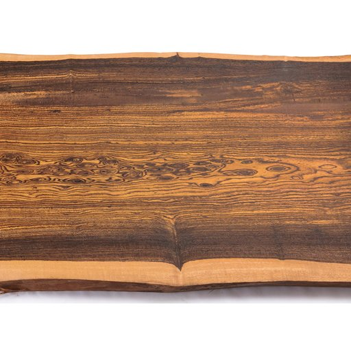 "View a Larger Image of 5/4 Bocote Natural Edge Slab, 53"" x 12"" x 1-1/4"""