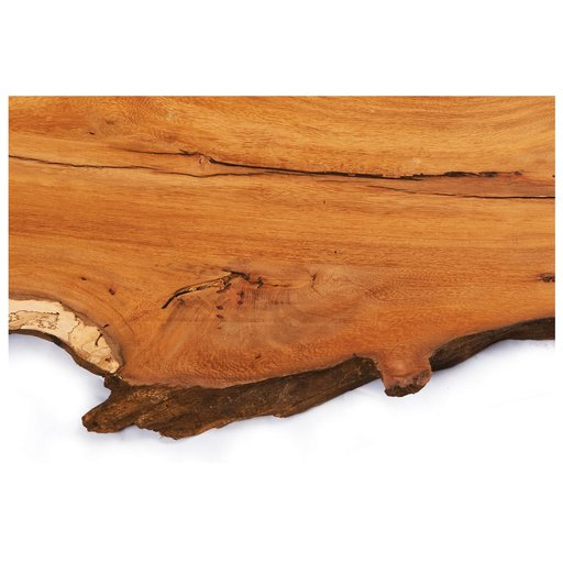 """View a Larger Image of 5/4 Madre Cacao Natural Edge Slab, 37"""" x 11"""" x 1-1/4"""""""