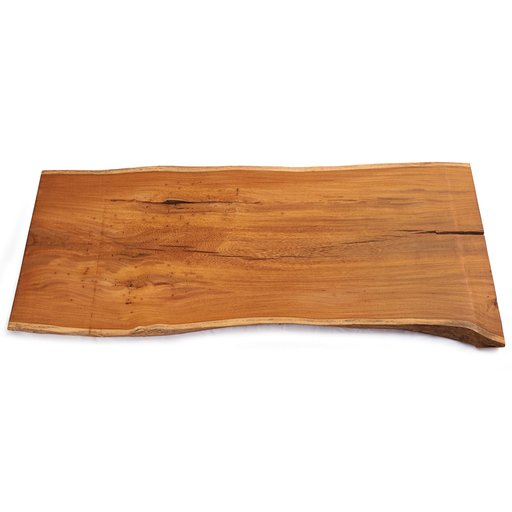 "View a Larger Image of 5/4 Madre Cacao Natural Edge Slab, 37"" x 14-1/2"" x 1-1/4"""